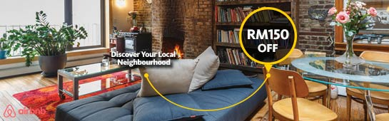 Airbnb Promo Code - RM150 off with Maybank AMEX Card