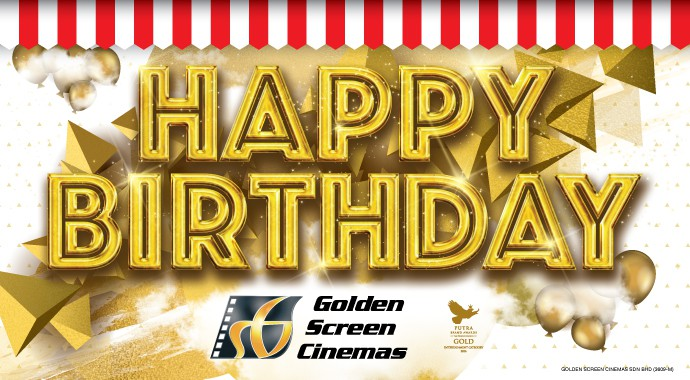 GSC Birthday FREE Movie