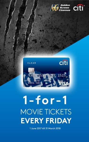 Citi Clear Card Buy 1 FREE 1