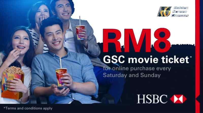 HSBC Credit Card RM8 promotion
