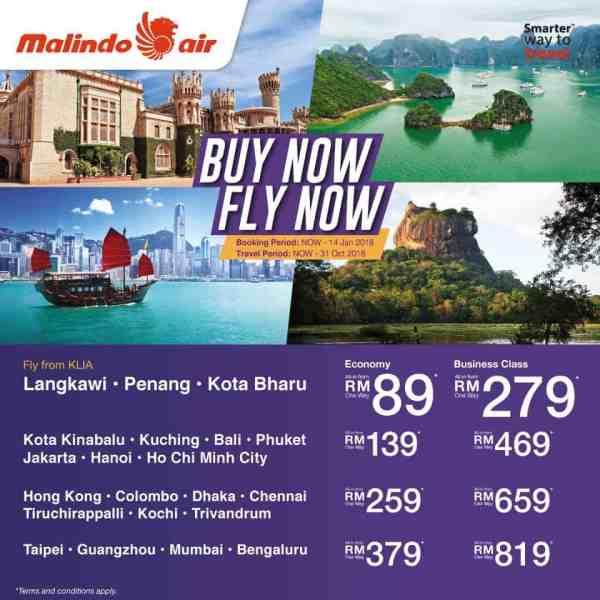 Malindo Air promotion 2018