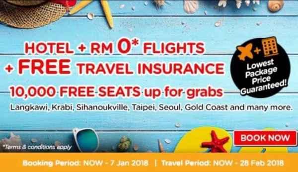 AirAsiaGo Free seat