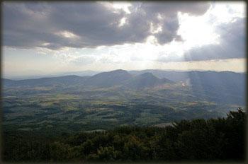 Pogled sa vrha Deli Jovana prema Stolu