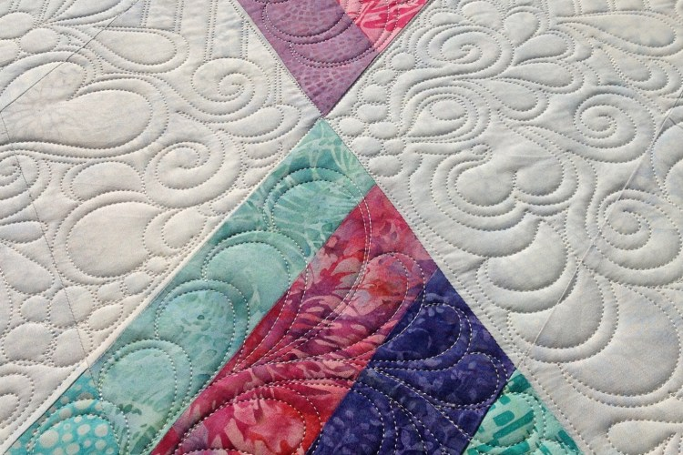 Diamonds  Quilt