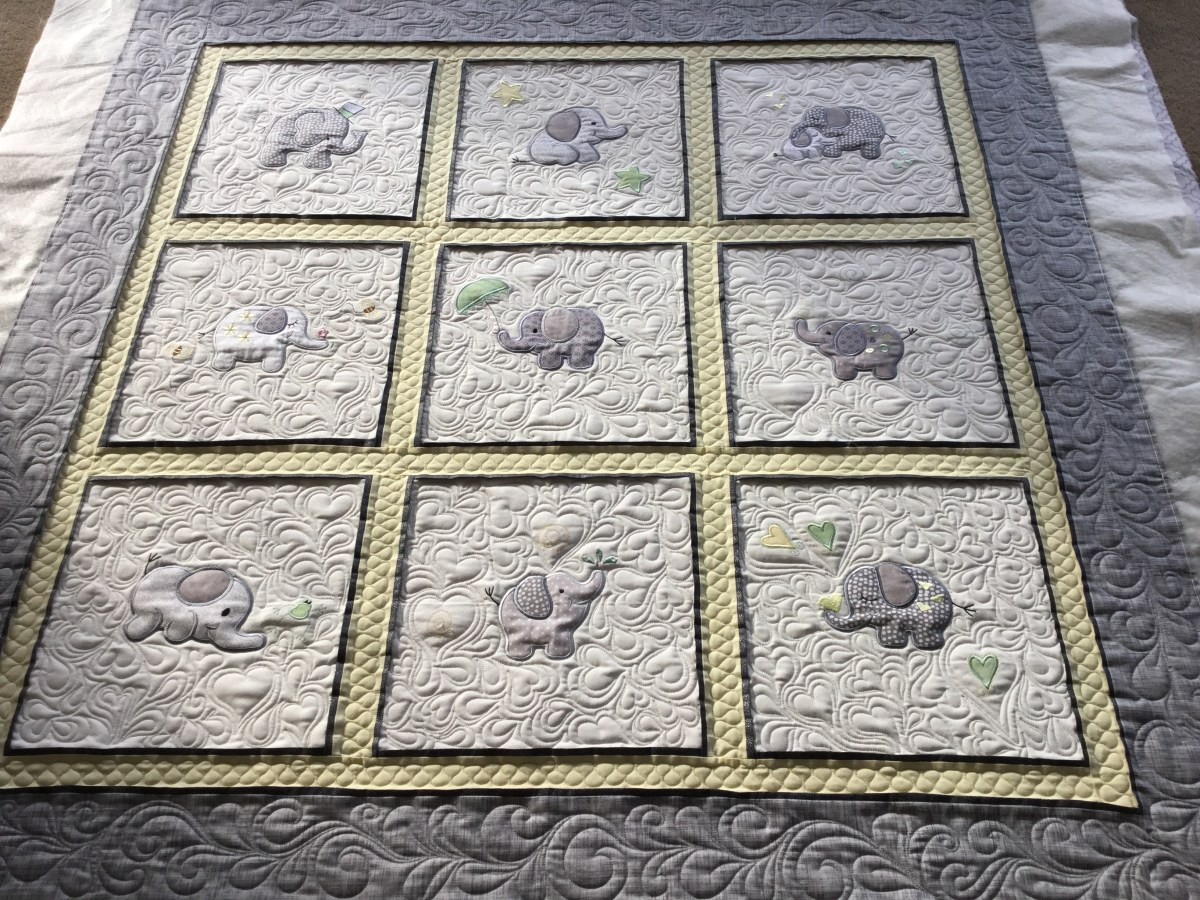 Marets Applique Baby Quilt Free Bird Quilting Designs