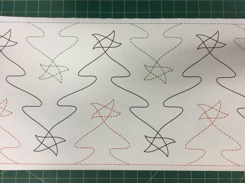 5 Christmas Pantographs Free Bird Quilting Designs
