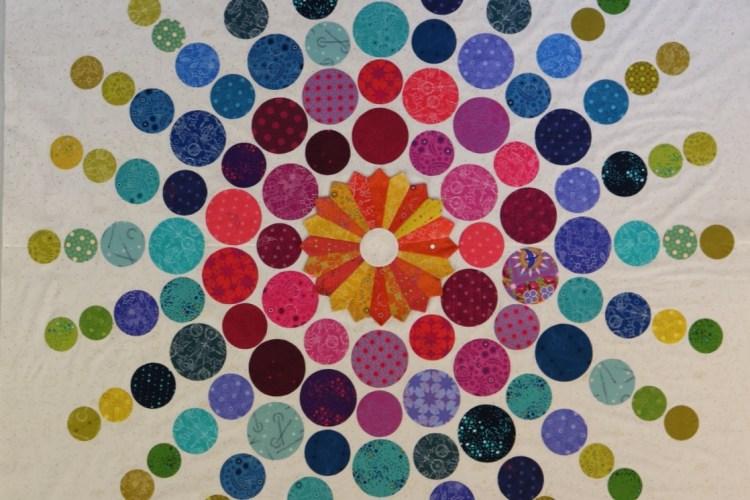 Circling circles quilt – Alison Glass Fabric