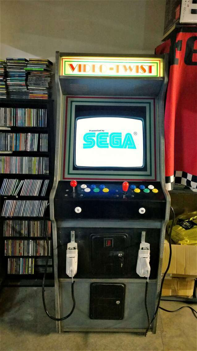 video twist sega dreamcast arcade