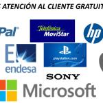 TELÉFONOS ATENCIÓN CLIENTE GRATIS ESPAÑA