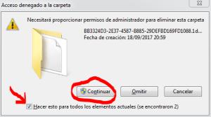 borrar archivos temporales windows 10