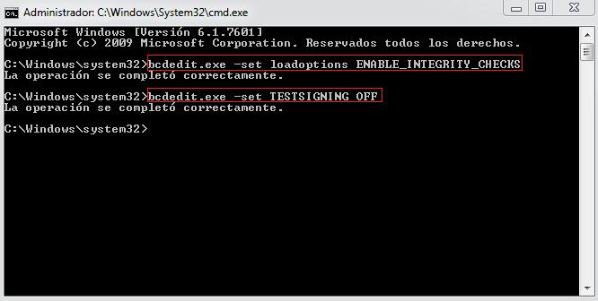 crack para windows 7 compilacion 7601