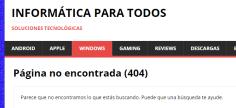 error http 404 wordpress girona
