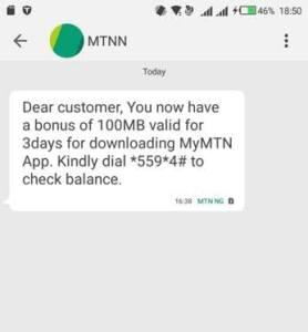 MTN Free Data Code