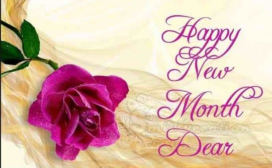 happy new month sms messages