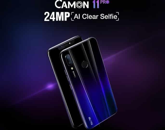 All Tecno Camon Series Android Smartphones in Nigeria