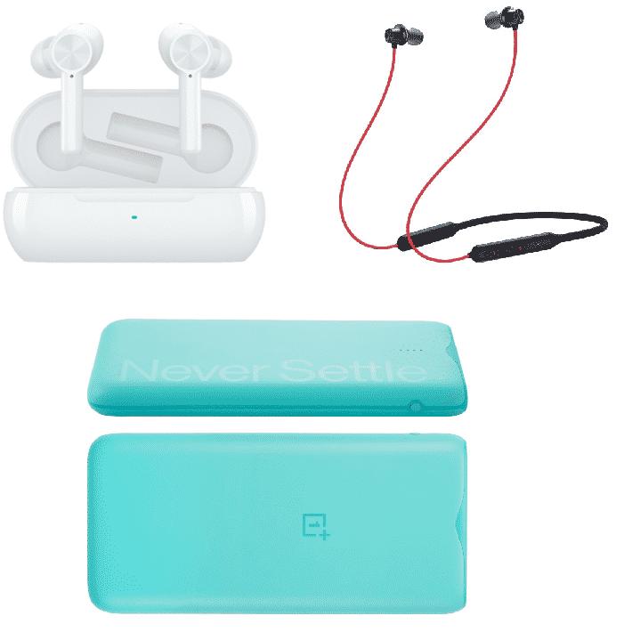 OnePlus Buds Z, 18W Power Bank, Bullets Wireless X Bass Edition