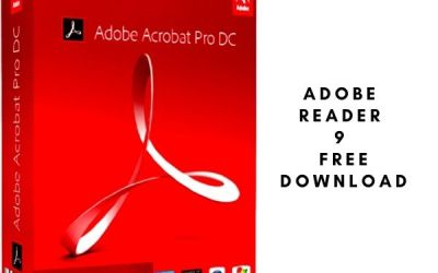 Adobe Reader 9 Free Download for Windows 10 64 Bit (PRO Version)