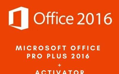 Microsoft Office Pro Plus 2016 Activator