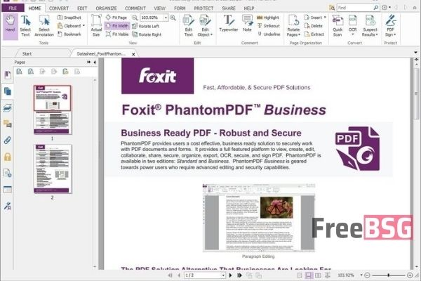Foxit Advanced PDF Editor Crack
