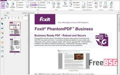 Foxit Advanced PDF Editor Crack v3.0.5