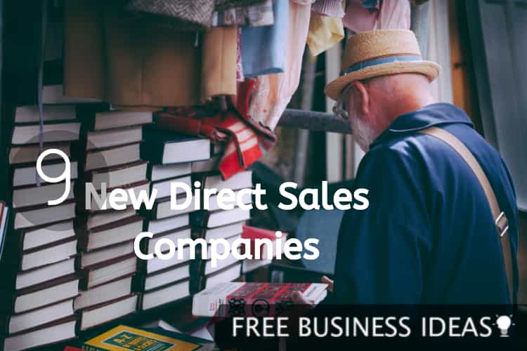 new direct sales companies