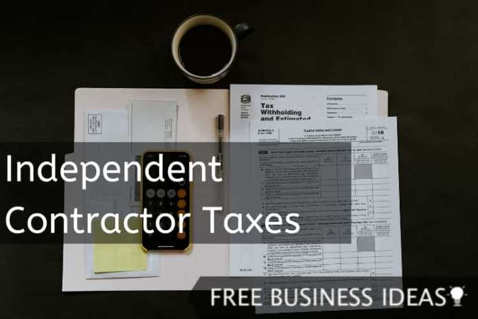 Independent Contractor Taxes