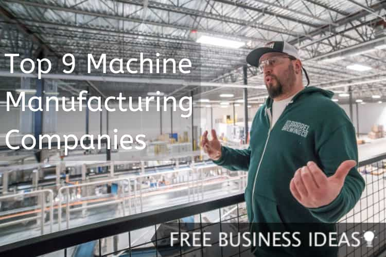 machine manufacturing companies