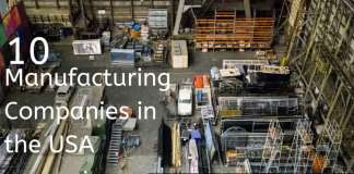 Manufacturing Companies in the USA