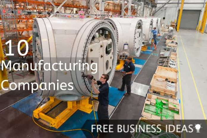 Manufacturing Companies