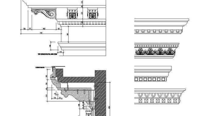 Working with linetype scales - Free CAD Download World