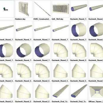 Sketchup Shrubs 3D models download - Free CAD Download World