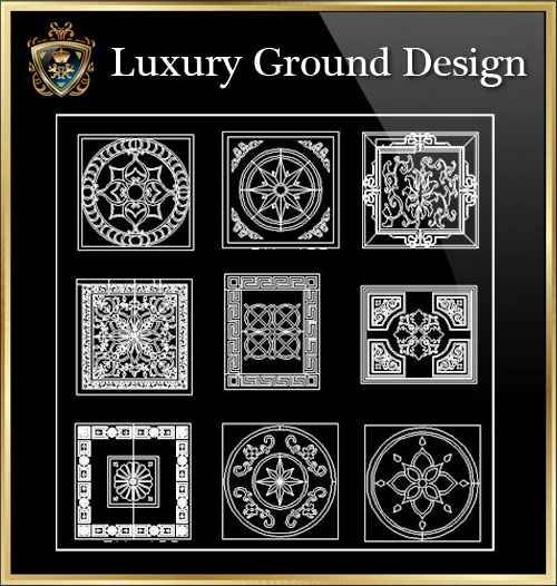 Luxury Ground Design CAD Blocks - Free CAD Download World-Download CAD  Drawings