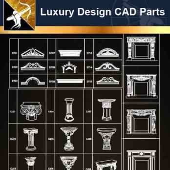 ★【Architecture Decoration Design Element CAD Blocks 】
