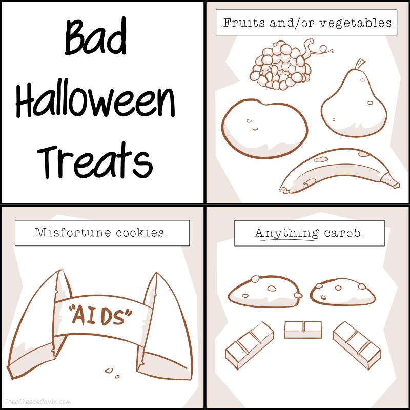Bad Halloween Treats