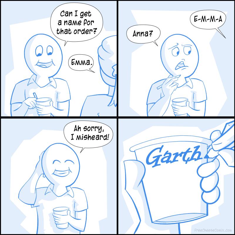 Ordering Coffee