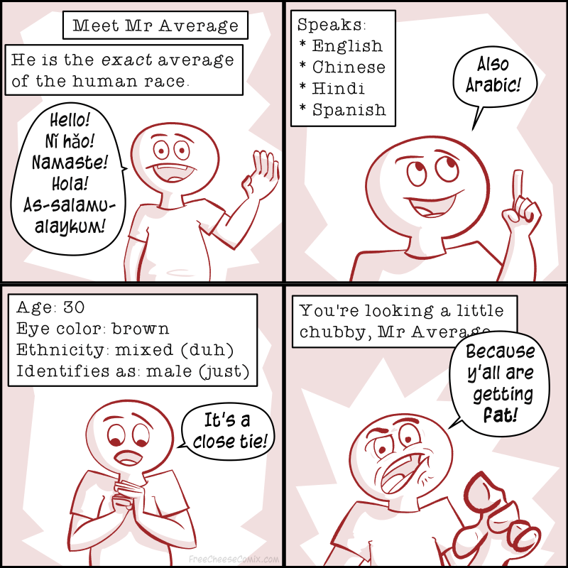 Meet Mr Average