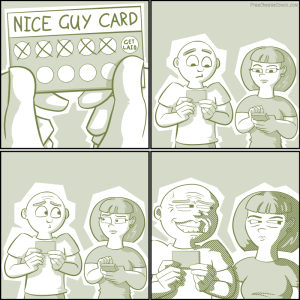 Nice Guy Reward Card
