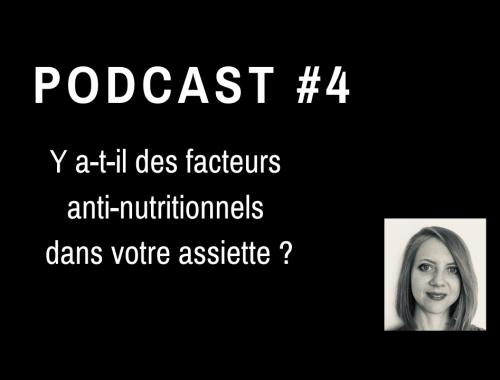 facteurs anti-nutritionnels