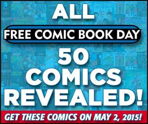 Link to FREE comic Book Day 50 Comics