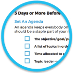 """Preview of FreeConference.com's Meeting Checklist """"How To Host Stellar Meetings"""""""
