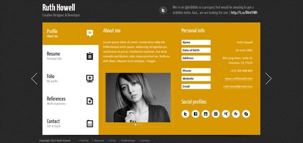 20/11/2009· you found 729 business card website templates from $3. 25 Creative Vcard Business Card Html Templates Design Blog