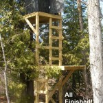 Free Deer Stand Building Plans Blinds Ladder Platform Stands