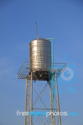 Water Steel Tank Tower Stock Photo Royalty Free Image ID