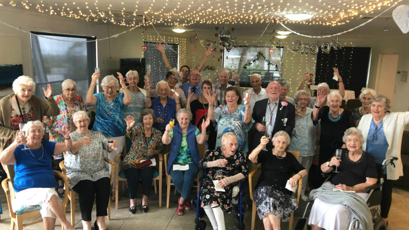 Aveo Freedom Aged Care Banora Point Wedding