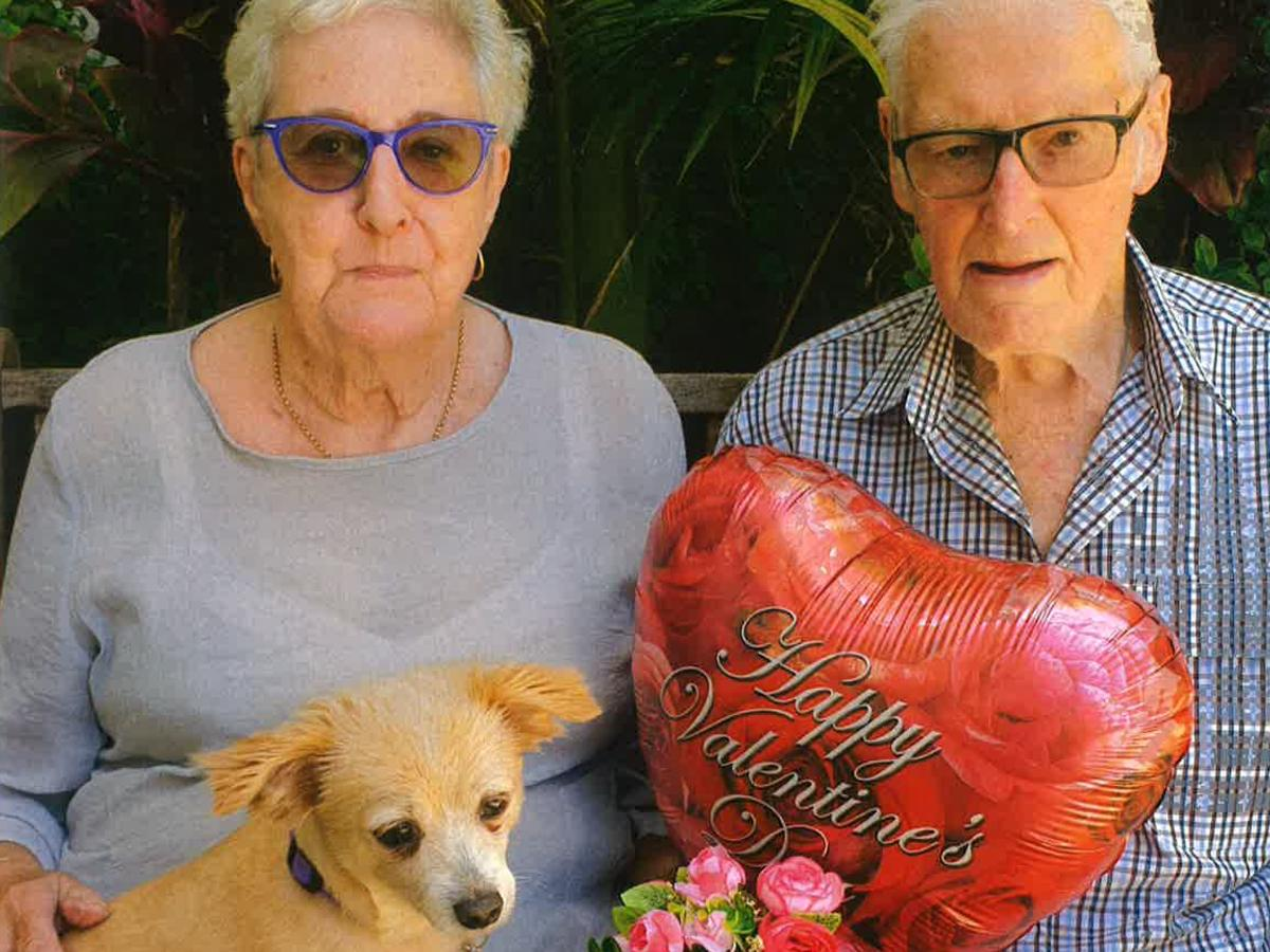 Valentine's Day at Freedom - Shirley and Malcolm