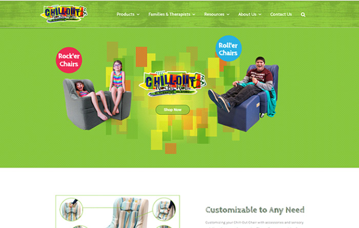 Chill-Out Chairs Website