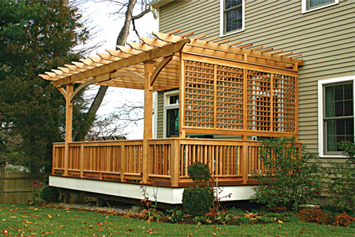 Protecting a Deck from Sun Damage :: Tips from your ... on Add On Patio Ideas  id=61751