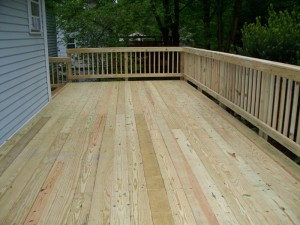 Wood Deck Bel Air