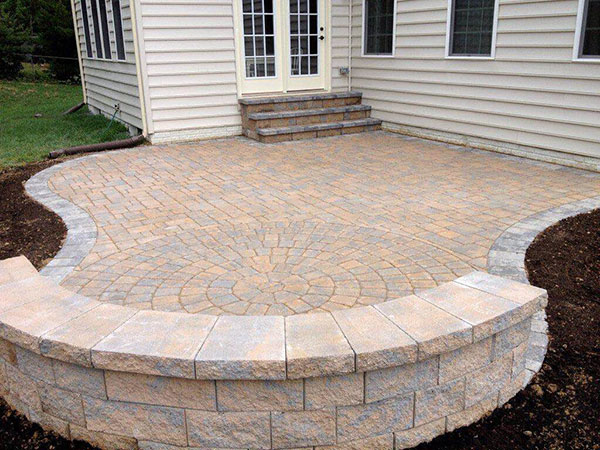 The Benefits Of A Concrete Paver Patio Freedom Fence Amp Deck