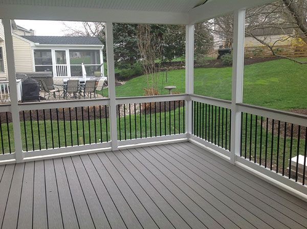 Screened Porches Freedom Fence Deck